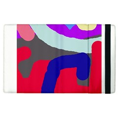 Crazy abstraction Apple iPad 2 Flip Case