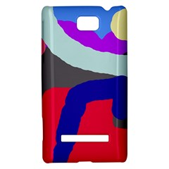 Crazy abstraction HTC 8S Hardshell Case
