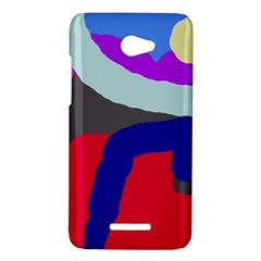 Crazy abstraction HTC Butterfly X920E Hardshell Case