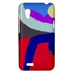 Crazy abstraction HTC Desire VT (T328T) Hardshell Case