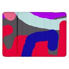 Crazy abstraction Samsung Galaxy Tab 8.9  P7300 Flip Case