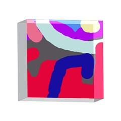 Crazy abstraction 4 x 4  Acrylic Photo Blocks