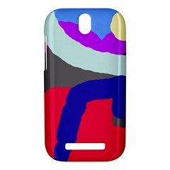 Crazy abstraction HTC One SV Hardshell Case