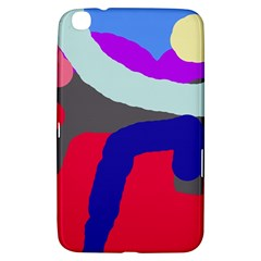 Crazy abstraction Samsung Galaxy Tab 3 (8 ) T3100 Hardshell Case