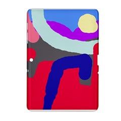 Crazy abstraction Samsung Galaxy Tab 2 (10.1 ) P5100 Hardshell Case