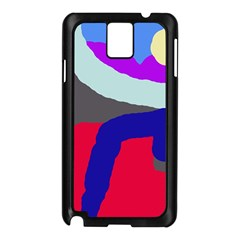 Crazy abstraction Samsung Galaxy Note 3 N9005 Case (Black)
