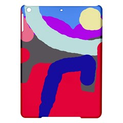 Crazy abstraction iPad Air Hardshell Cases