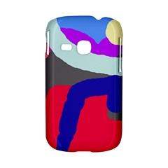 Crazy abstraction Samsung Galaxy S6310 Hardshell Case