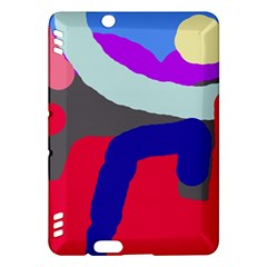 Crazy abstraction Kindle Fire HDX Hardshell Case