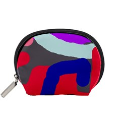 Crazy abstraction Accessory Pouches (Small)