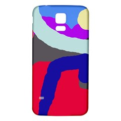 Crazy abstraction Samsung Galaxy S5 Back Case (White)