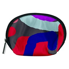 Crazy abstraction Accessory Pouches (Medium)