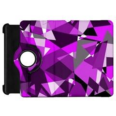 Purple broken glass Kindle Fire HD Flip 360 Case