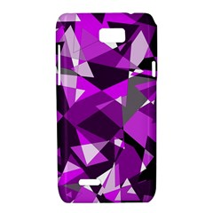 Purple broken glass Motorola XT788