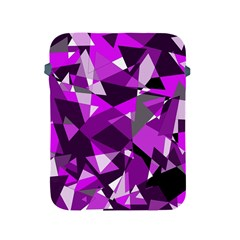 Purple broken glass Apple iPad 2/3/4 Protective Soft Cases