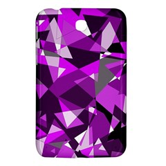 Purple broken glass Samsung Galaxy Tab 3 (7 ) P3200 Hardshell Case