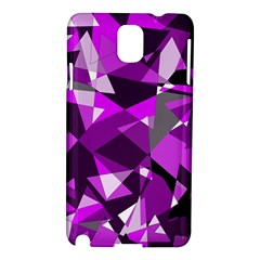 Purple Broken Glass Samsung Galaxy Note 3 N9005 Hardshell Case