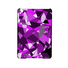 Purple broken glass iPad Mini 2 Hardshell Cases