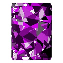 Purple broken glass Kindle Fire HDX Hardshell Case
