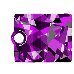 Purple broken glass Kindle Fire HDX 8.9  Flip 360 Case