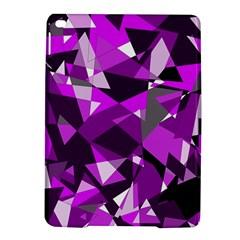 Purple broken glass iPad Air 2 Hardshell Cases
