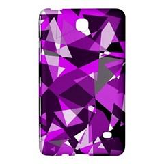 Purple broken glass Samsung Galaxy Tab 4 (8 ) Hardshell Case