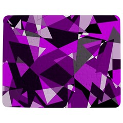 Purple broken glass Jigsaw Puzzle Photo Stand (Rectangular)