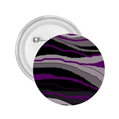 Purple and gray decorative design 2.25  Buttons