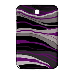 Purple and gray decorative design Samsung Galaxy Note 8.0 N5100 Hardshell Case