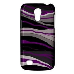 Purple and gray decorative design Galaxy S4 Mini