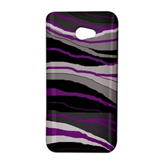 Purple and gray decorative design HTC Butterfly S/HTC 9060 Hardshell Case