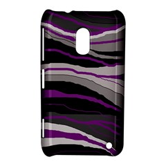 Purple and gray decorative design Nokia Lumia 620