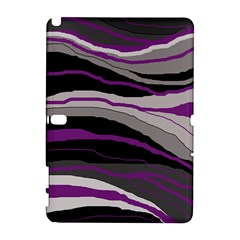 Purple and gray decorative design Samsung Galaxy Note 10.1 (P600) Hardshell Case