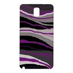 Purple and gray decorative design Samsung Galaxy Note 3 N9005 Hardshell Back Case