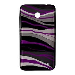 Purple and gray decorative design Nokia Lumia 630