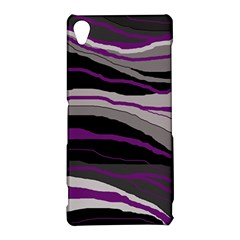 Purple and gray decorative design Sony Xperia Z3