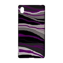 Purple and gray decorative design Sony Xperia Z3+