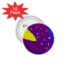 Optimistic abstraction 1.75  Buttons (10 pack)
