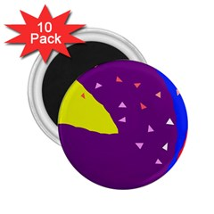 Optimistic abstraction 2.25  Magnets (10 pack)