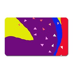 Optimistic abstraction Magnet (Rectangular)