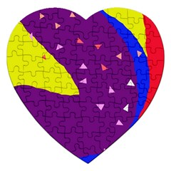 Optimistic abstraction Jigsaw Puzzle (Heart)