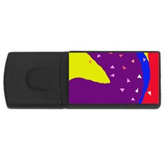 Optimistic abstraction USB Flash Drive Rectangular (4 GB)