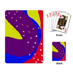 Optimistic abstraction Playing Card