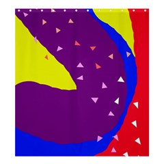 Optimistic abstraction Shower Curtain 66  x 72  (Large)