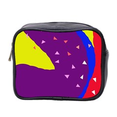 Optimistic abstraction Mini Toiletries Bag 2-Side