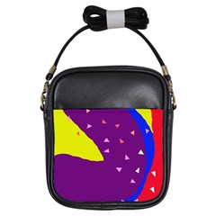 Optimistic abstraction Girls Sling Bags