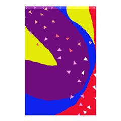Optimistic abstraction Shower Curtain 48  x 72  (Small)