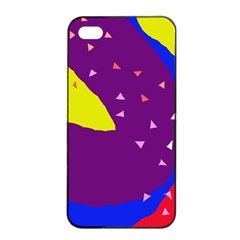Optimistic abstraction Apple iPhone 4/4s Seamless Case (Black)
