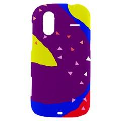 Optimistic abstraction HTC Amaze 4G Hardshell Case