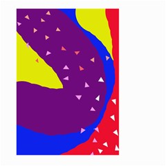 Optimistic abstraction Large Garden Flag (Two Sides)